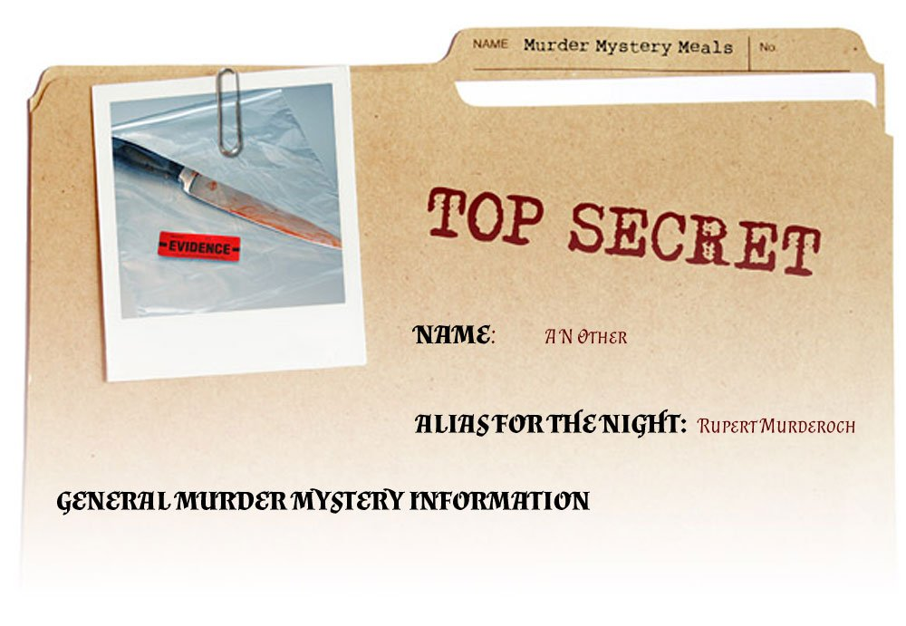 Top Secret Murder Mystery